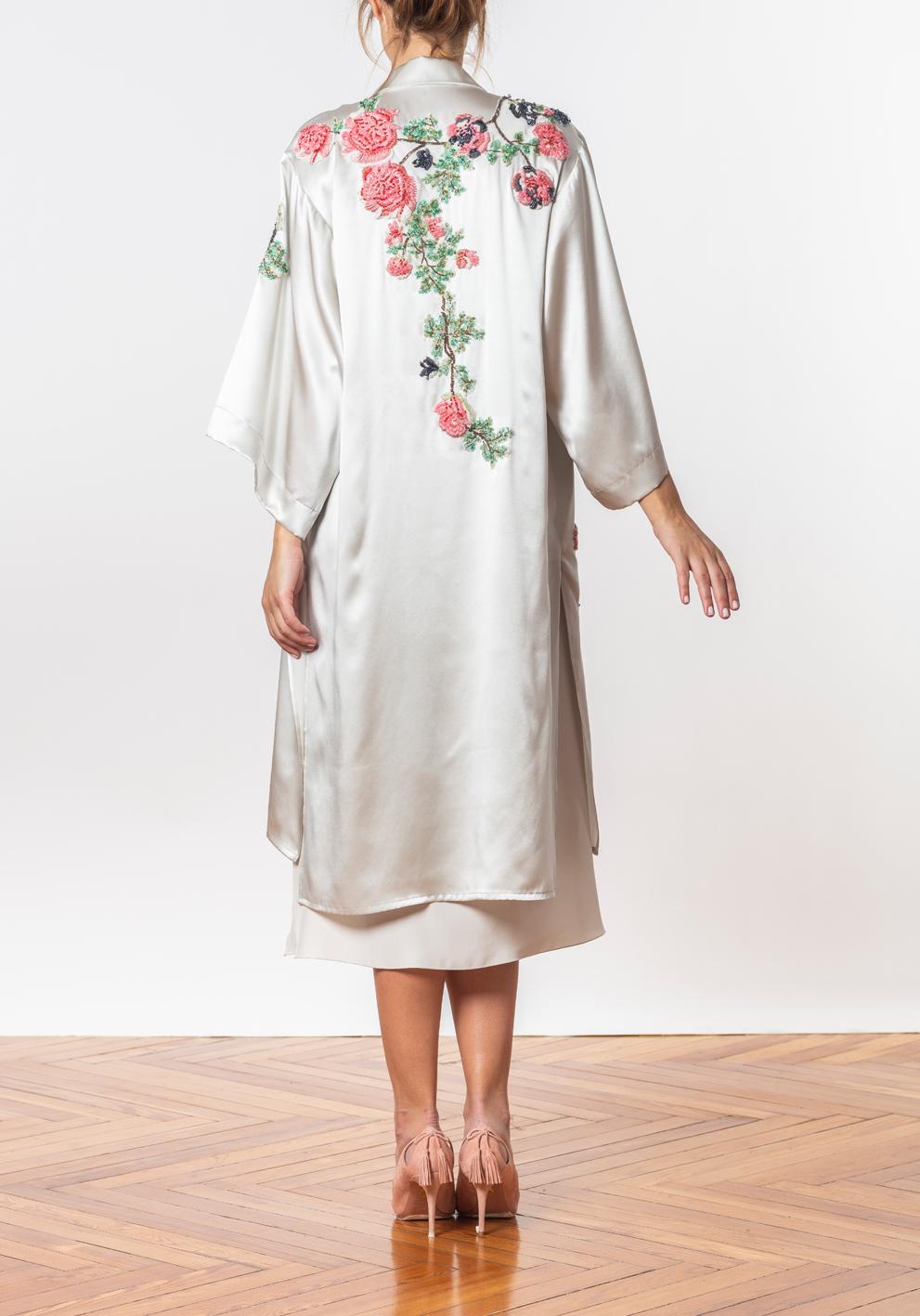 Vestido Y Kimono Issa